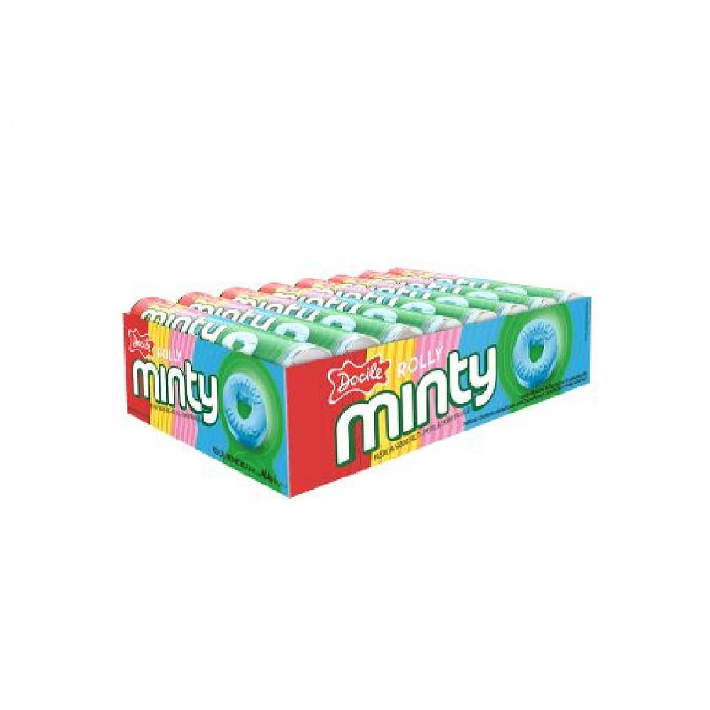 Pastilha-Rolly-Minty-Docile-Fruit-29g-Di